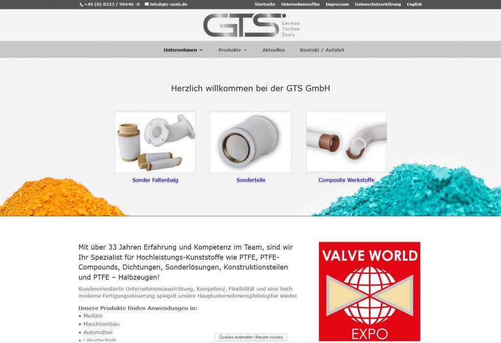 Webdesign für die Industrie