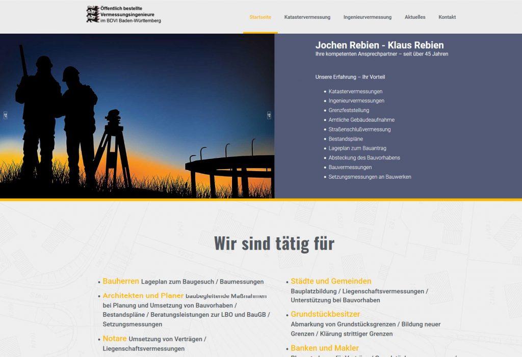 Webseiten für Ingenieure