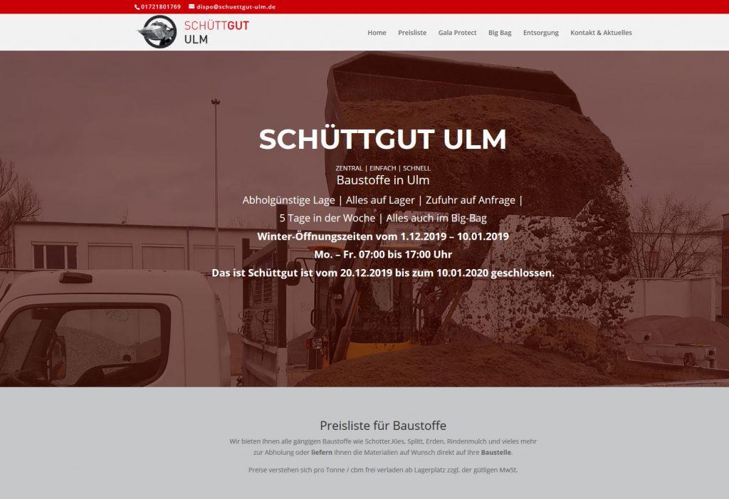 schuettgutulm webgestaltung