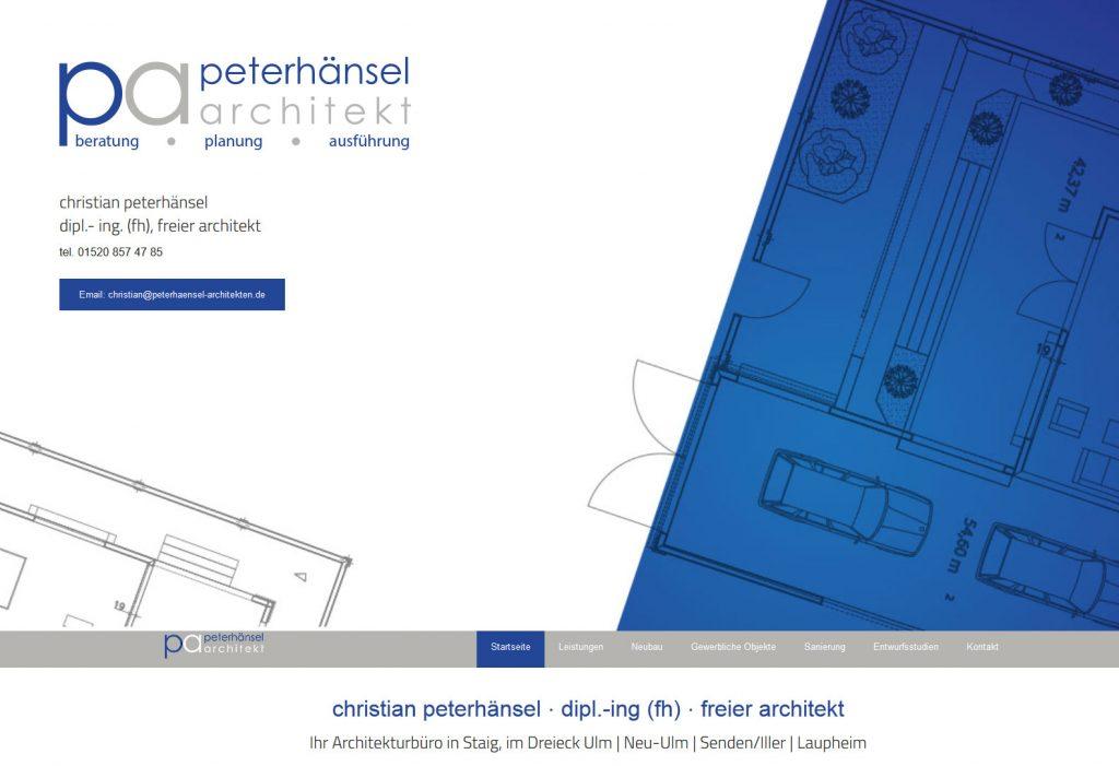 Webseiten für Architekten